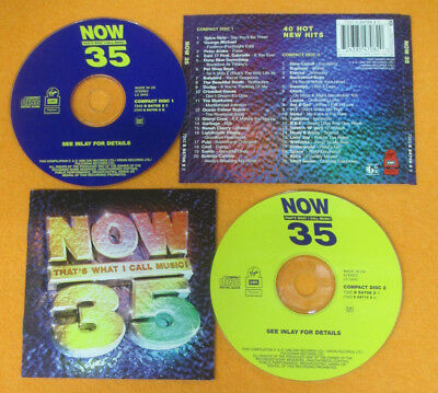 2 CD Compilation NOW 35 1996 Spice girls Backstreet boys Bjork no mc lp (C3)