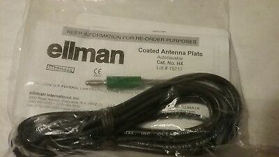 Ellman Coated Antenna Plate Catalog Number H4 Quantity 1 New In Package