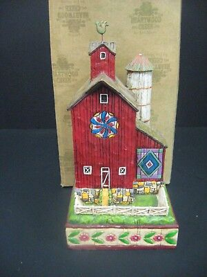 Jim Shore Red Barn Strength and Plenty Figurine With box 2004