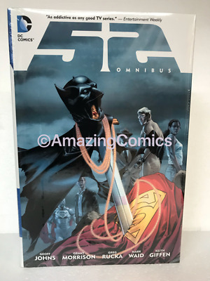 DC 52 OMNIBUS Hardcover HC by Mark Waid and Geoff Johns - NEW MSRP $150