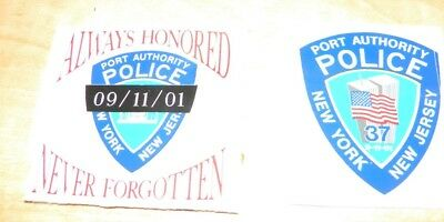 Port Authority Police Stickers ..  PAPD  ..new style
