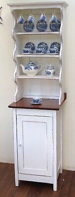 Rustic Slim Line Kitchen Dresser Country Style