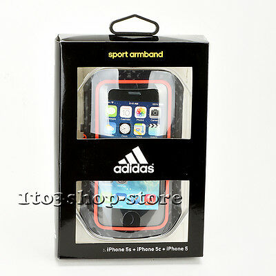 Griffin Adidas Sport Armband iPhone SE iPhone 5c iPhone 5 iPhone 5s Red Black