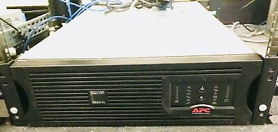Apc Su3000Rmxl3U Smart-Ups 3000Va Xl 3U 120V 2400W Power Backup