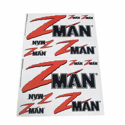 ZMan Lures Team ZMan Sticker Pack-12 Assorted Vinyl Fishing Stickers-Boat Decals