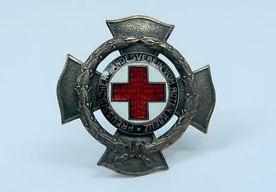 WWI German Imperial iron badge Red cross Prussia pin medal enamel WW2 US army BB