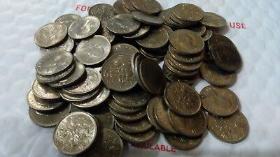 Great Britain 50 Pieces 1967 Uncirculated 6 Pence, Km #903, Free Shipping