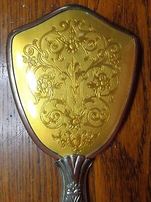 Antique Vintage Hair Brush Removable  Victorian Style