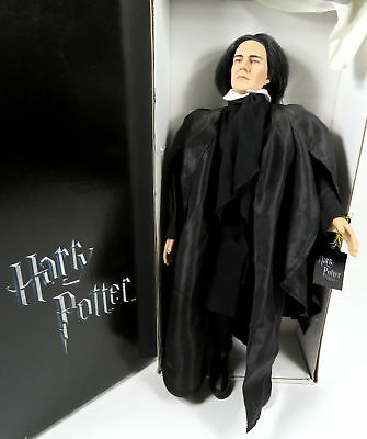 "Tonner Harry Potter Doll 19"" Professor Snape With Cape In Box Goblet On Fire"