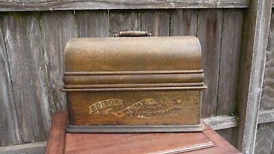 large edison home phonograph case only parts project