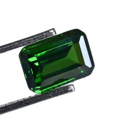 6.86Ct HUGE UNIQUE RARE ! STUNNING FIRE 100%NATURAL GREEN COLOMBIAN EMERALD