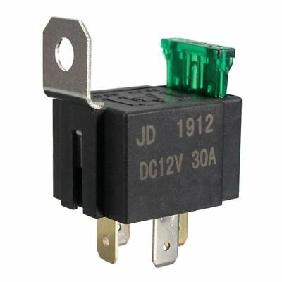 12V 30A 4 Pin SPST Auto Vehicle Relay Normally Opener Changeover Switch J9Y K4Q7