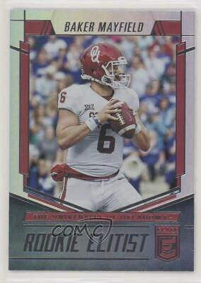 Baker Mayfield 2018 Elite Rookie Elitist Football Card 1200