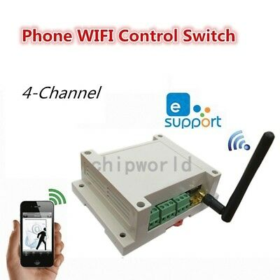 Wifi relay Switch AC 110-230V  Relay Switch Multi-Channel Remote Control Network