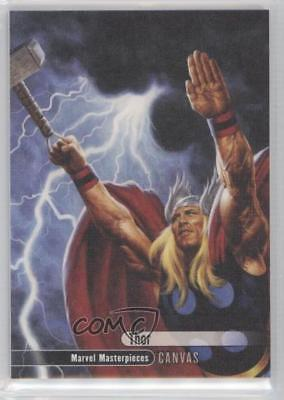 2016 Upper Deck Marvel Masterpieces #95 Canvas High Series Thor Card f8f