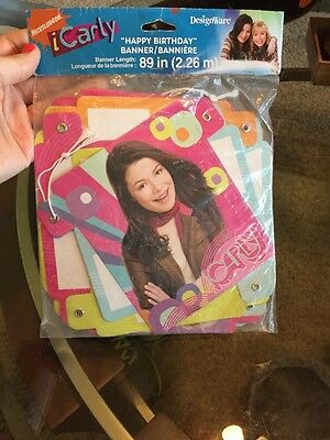 iCarly Paper Banner (Happy Birthday)
