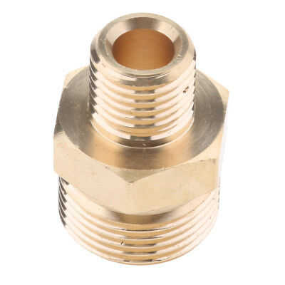 22Mm M X 14Mm Male Pressure Washer Screw Hose Connector Fitting Adapter #2