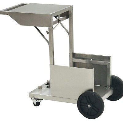 Bayou Classic 700-185 Solid Steel Easy Assembly Wheeled 4 Gallon Fryer Cart