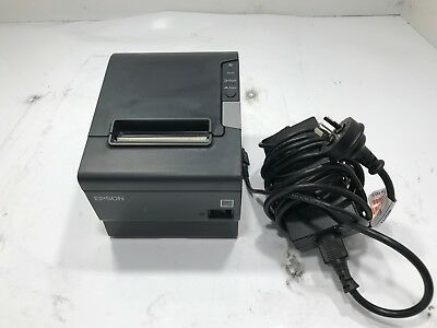Epson TM-T88V M244A Point Of Sale (POS) Thermal Receipt Printer w/ Power Supply