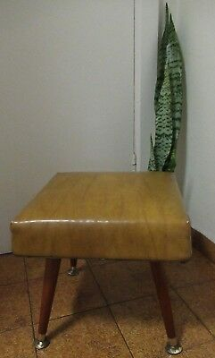 Excellent condition Vintage Retro mid century foot pouffe or children's stool
