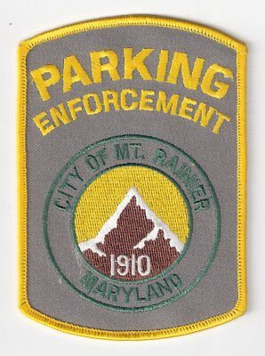 PG|MD Mount Rainier Police Parking Enforcement Patch - Prince George's, Maryland