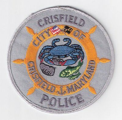 SO|MD Crisfield Police Department Patch - Somerset County, Maryland