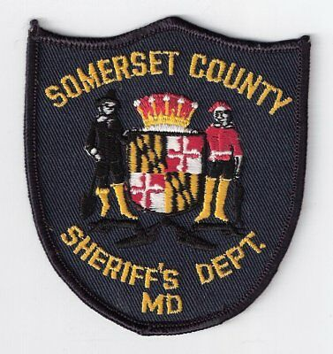SO|MD Somerset County Sheriff's Office Police Patch - Maryland