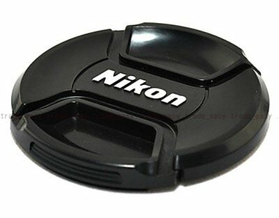 NEW 52mm Front Lens Cap Snap-on Cover for Nikon Camera