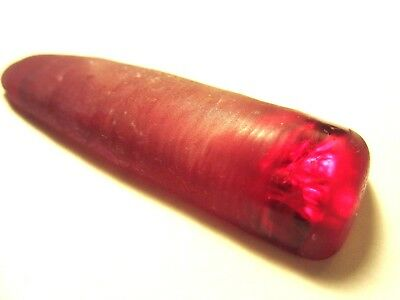 """Quality Al2o3 Synthetic Verneuil's """"flame-fusion"""" Raw Ruby - 44.58 gm Big Size !"""
