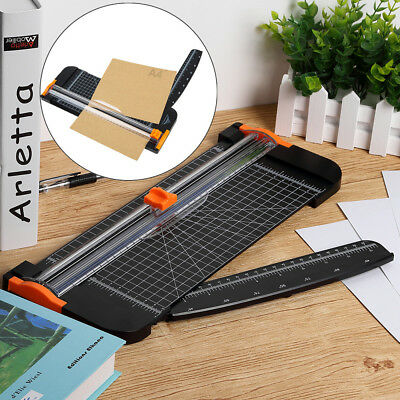 Heavy Duty A4 Photo Rotary Paper Cutter Guillotine Card Trimmer Ruler Office AU