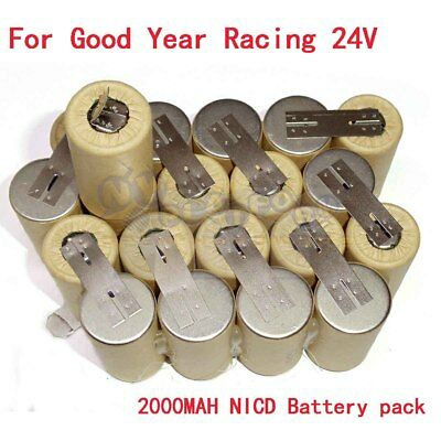 For Good Year Racing 24Volt 2.0AH NICD 33609 Cordless Impact Wrench Battery Pack