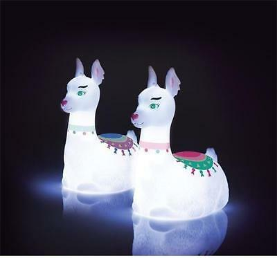 NEW Illuminate LED Llama Lamp Childrens Night Light
