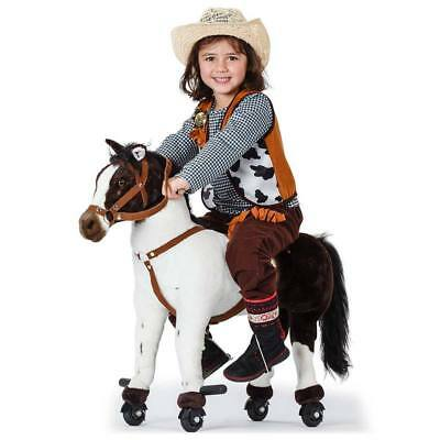 Ride-On Pony on Wheels Cycle  - Horse Toy Sounds Rocking Cute