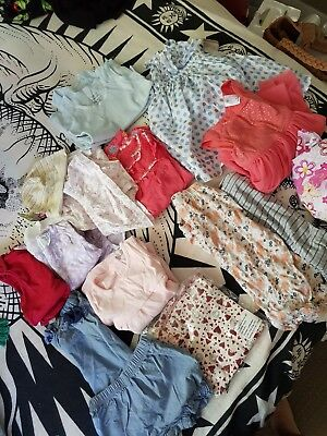 Mixed Baby clothes (organic cotton materials) Most are NEW not worn. Size 00 - 2