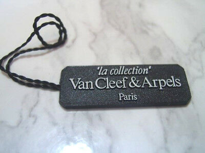 """Open Blank Authentic VanCleef & Arpels """" la collection """" watch Hang Tag    *6899"""