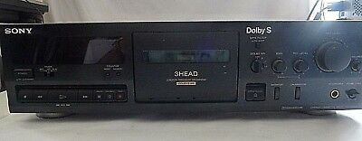 Sony TC-K611S 3 Head Stereo Deck With Dolby S PAT Tested