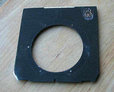 genuine Linhof 45 Technika Lens board panel with 61mm hole