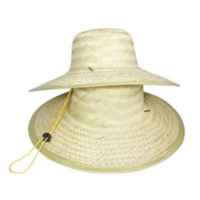 90402578ca3 Chinese Oriental Vietnamese Straw Bamboo Sun Hat Farmer Outdoor Fishing  Rice Hat