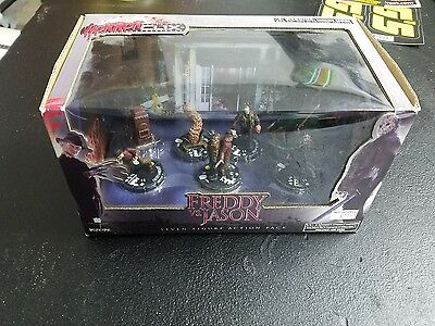 Freddy Vs Jason Horrorclix 7 Figure Action Pack UNOPENED