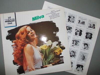 Milva best of die weisse serie ultra phone 1980