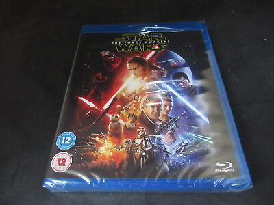 Blu Ray Star Wars The Force Awakens 2 Disc Edition Brand New Sealed