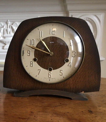 Smiths Tempora Chiming Clock. Westminster Chimes.Spares Or Repair.