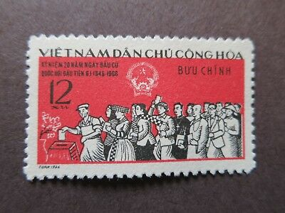 N.Vietnam 1966 - 20th Anniversary of 1st General Elections - VF, MNH