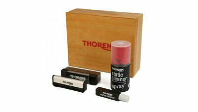 Thorens Vinyl Cleaning Kit - LP Record Stylus Needle Brush Diamond Care Pack