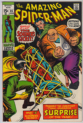 AMAZING SPIDER-MAN #85 FN- (5.5) Cents
