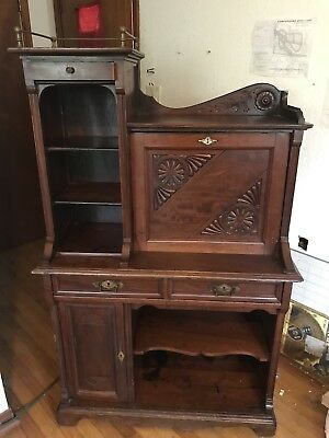 antique secretaty desk