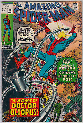 AMAZING SPIDER-MAN #88 VG (4.0) Pence