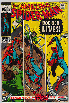 AMAZING SPIDER-MAN #89 FN (6.0) Cents