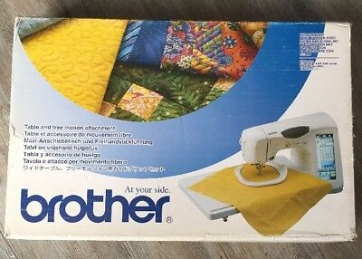New BROTHER SA-TFM2004 TABLE AND FREE MOTION ATTACHMENT
