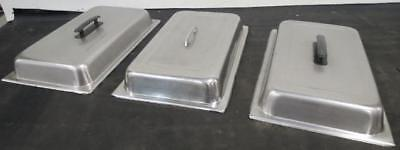 Stainless Steel Full Size Steam Table Pan Dome Cover Lid chafer